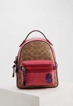 8fd7db51ffa1 Рюкзак, Coach, цвет: розовый. Артикул: CO069BWFRDC6. Premium / Аксессуары /