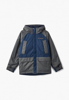 Куртка утепленная, Columbia, цвет  мультиколор. Артикул  CO214EBCPOF1.  Мальчикам   Одежда 3b7e47b6997