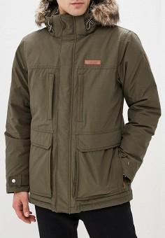 6aa24c963085 Куртка утепленная, Columbia, цвет  хаки. Артикул  CO214EMCPPJ8. Одежда    Верхняя