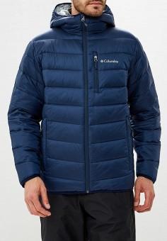 eaca615336d5 Пуховик, Columbia, цвет  синий. Артикул  CO214EMCPPO9. Одежда   Верхняя  одежда