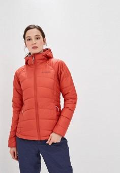 Куртка утепленная, Columbia, цвет  оранжевый. Артикул  CO214EWCPPS0.  Columbia c57ce7a5729