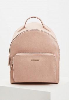 Рюкзак, Coccinelle, цвет  розовый. Артикул  CO238BWDRIW4. Аксессуары    Рюкзаки a31e6a09fd7