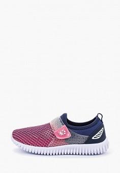 9d85fabb Кроссовки, Crosby, цвет: розовый. Артикул: CR004AGFOOP3. Девочкам / Обувь