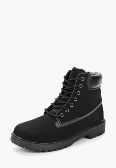 39385394a Ботинки, Crosby, цвет: черный. Артикул: CR004AMCILX0. Обувь / Ботинки /