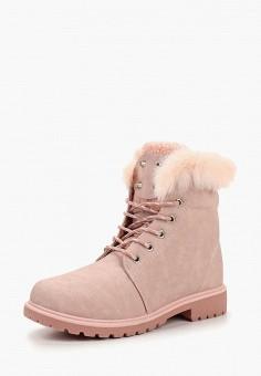 Ботинки, Crosby, цвет  розовый. Артикул  CR004AWCIFK5. Обувь   Ботинки   3ae1cc2badd