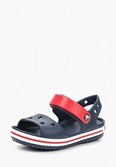 6294ed24 Сандалии, Crocs, цвет: синий. Артикул: CR014AKCQHM7. Девочкам / Обувь