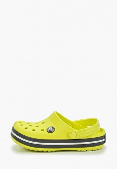 793d28ea6 Сабо, Crocs, цвет: желтый. Артикул: CR014AKEMXR5. Девочкам / Обувь