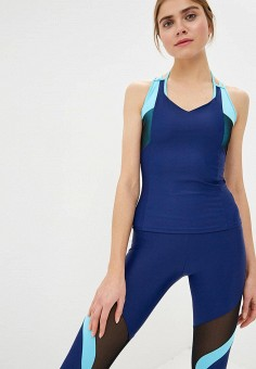 Майка спортивная, Dali, цвет  синий. Артикул  DA002EWDMQH6. Одежда   Топы 0c419e9985e