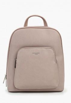 c125cdcadab4 Рюкзак, David Jones, цвет: розовый. Артикул: DA919BWFIVB5. Аксессуары /  Рюкзаки
