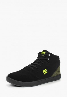 Кеды, DC Shoes, цвет: черный. Артикул: DC329ABCFCJ4. Мальчикам / Спорт