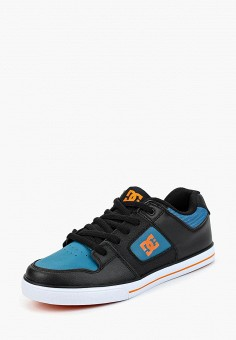 Кеды, DC Shoes, цвет: черный. Артикул: DC329ABCFCJ6. Мальчикам / Спорт