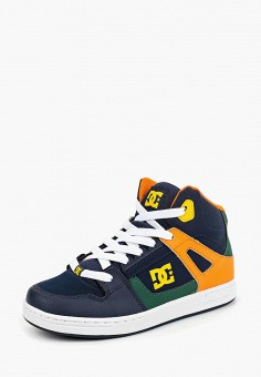 Кеды, DC Shoes, цвет: синий. Артикул: DC329ABCFCJ7. Мальчикам / Спорт