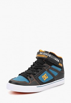 Кеды, DC Shoes, цвет: синий. Артикул: DC329ABCFCJ9. Мальчикам / Спорт