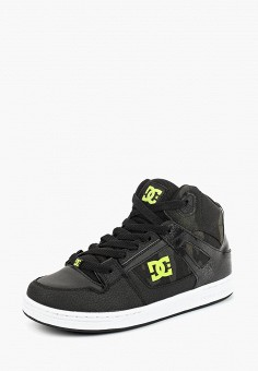 Кеды, DC Shoes, цвет: черный. Артикул: DC329ABCFCK0. Мальчикам / Спорт