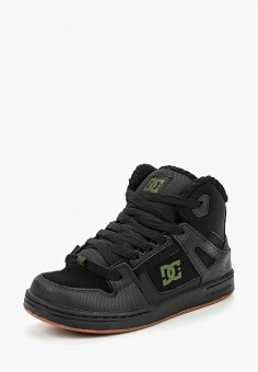 Кеды, DC Shoes, цвет: черный. Артикул: DC329ABCFCK1. Мальчикам / Спорт