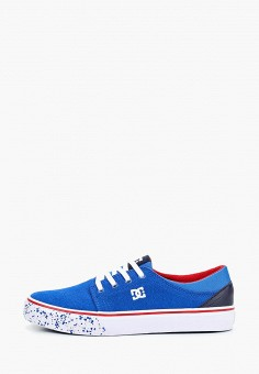 Кеды, DC Shoes, цвет: синий. Артикул: DC329ABEDBN9. Мальчикам / Спорт