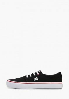 796b11202 Кеды, DC Shoes, цвет: черный. Артикул: DC329AWEGTO4. Обувь / Кроссовки