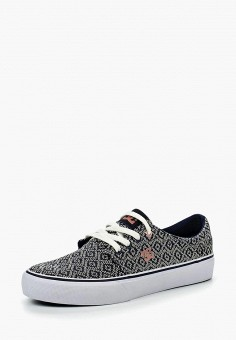 Кеды, DC Shoes, цвет: мультиколор. Артикул: DC329AWKDQ63. Обувь