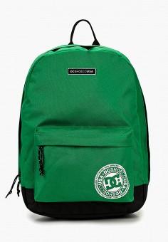 856e76ae32a4 Рюкзак, DC Shoes, цвет: зеленый. Артикул: DC329BUEDBR2. Аксессуары / Рюкзаки