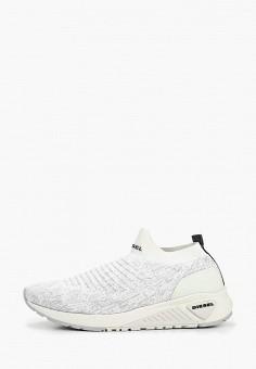 Кроссовки, Diesel, цвет  белый. Артикул  DI303AMDJPS1. Обувь   Кроссовки и 37fd2114121