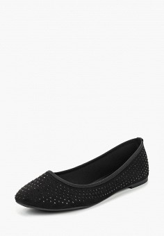 Балетки, Dorothy Perkins, цвет  черный. Артикул  DO005AWDHRI4. Обувь    Балетки 8a1340111f5