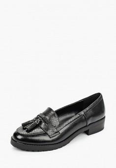 Лоферы, Dorothy Perkins, цвет: черный. Артикул: DO005AWIZUE8. Обувь / Туфли / Лоферы