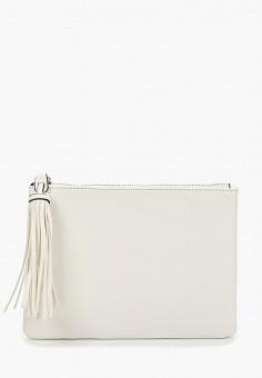 1672e3f7ed4b Клатч, Dorothy Perkins, цвет: белый. Артикул: DO005BWFHKU6. Аксессуары /  Сумки