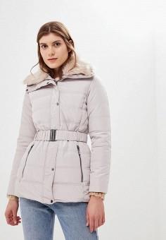 ada8f57f87396 Куртка утепленная, Dorothy Perkins, цвет: бежевый. Артикул: DO005EWCMQJ7.  Одежда /