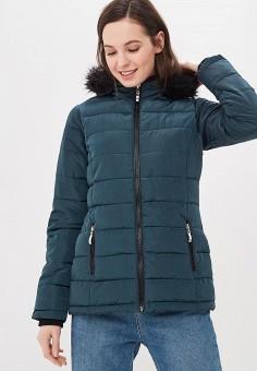 1668ebab3821b Куртка утепленная, Dorothy Perkins, цвет: бирюзовый. Артикул: DO005EWDPQM8.  Одежда /