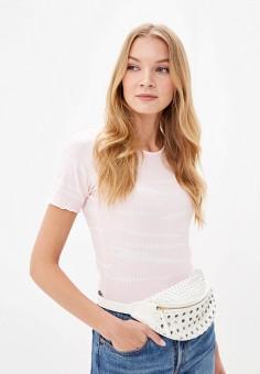 5316ef9536ab7 Футболка, Dorothy Perkins, цвет: розовый. Артикул: DO005EWFYRM4. Одежда /  Футболки