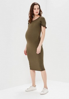 Платье, Dorothy Perkins Maternity, цвет: хаки. Артикул: DO028EWAZVF3. Dorothy Perkins Maternity