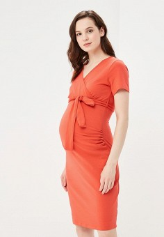 Платье, Dorothy Perkins Maternity, цвет: коралловый. Артикул: DO028EWBJRT1. Dorothy Perkins Maternity