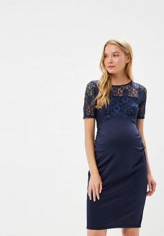 Платье, Dorothy Perkins Maternity, цвет: синий. Артикул: DO028EWBONH1. Dorothy Perkins Maternity