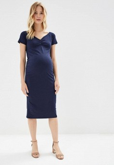 Платье, Dorothy Perkins Maternity, цвет: синий. Артикул: DO028EWBTNN2. Dorothy Perkins Maternity