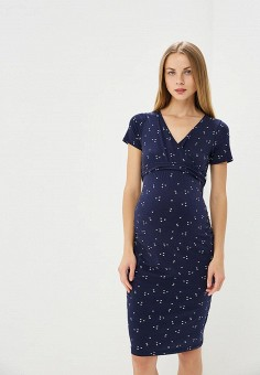 Платье, Dorothy Perkins Maternity, цвет: синий. Артикул: DO028EWBVPL7. Dorothy Perkins Maternity