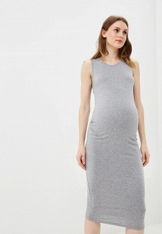 Платье, Dorothy Perkins Maternity, цвет: серый. Артикул: DO028EWCKZS5. Dorothy Perkins Maternity