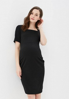 Платье, Dorothy Perkins Maternity, цвет: черный. Артикул: DO028EWDHPX5. Dorothy Perkins Maternity