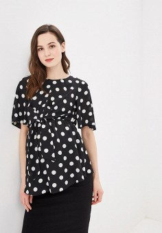 Блуза, Dorothy Perkins Maternity, цвет: черный. Артикул: DO028EWDKLQ3. Dorothy Perkins Maternity