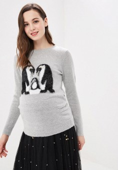 Джемпер, Dorothy Perkins Maternity, цвет: серый. Артикул: DO028EWDKLQ4. Dorothy Perkins Maternity