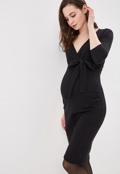 Платье, Dorothy Perkins Maternity, цвет: черный. Артикул: DO028EWDOGX5. Dorothy Perkins Maternity