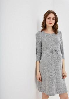 0f2728c260da810 Платье, Dorothy Perkins Maternity, цвет: серый. Артикул: DO028EWEEOS4.  Одежда /