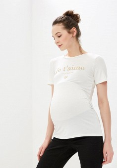 Футболка, Dorothy Perkins Maternity, цвет: белый. Артикул: DO028EWEYAY9. Dorothy Perkins Maternity