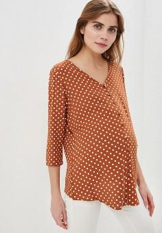 21b3365e5964d Блуза, Dorothy Perkins Maternity, цвет: коричневый. Артикул: DO028EWFDUQ4.  Одежда /