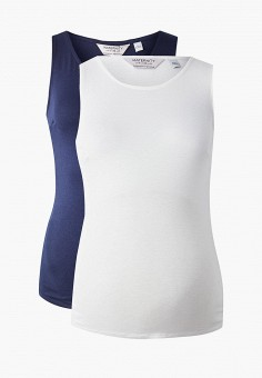 bd86b06e Комплект, Dorothy Perkins Maternity, цвет: белый, синий. Артикул:  DO028EWFHKI3.