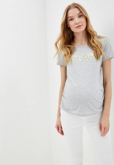 Футболка, Dorothy Perkins Maternity, цвет: серый. Артикул: DO028EWFHPS7. Dorothy Perkins Maternity