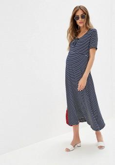 babd7c9db6b4da4 Платье, Dorothy Perkins Maternity, цвет: синий. Артикул: DO028EWFJRE7.  Одежда /