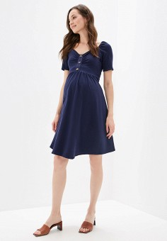 Платье, Dorothy Perkins Maternity, цвет: синий. Артикул: DO028EWFOCY3. Dorothy Perkins