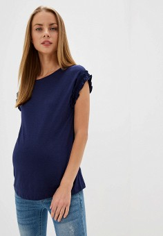 Футболка, Dorothy Perkins Maternity, цвет: синий. Артикул: DO028EWFUPC3. Dorothy Perkins Maternity