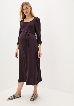 Платье, Dorothy Perkins Maternity, цвет: фиолетовый. Артикул: DO028EWGRWA5. Dorothy Perkins Maternity