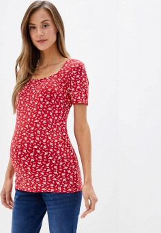Футболка, Dorothy Perkins Maternity, цвет: красный. Артикул: DO028EWGTXD3. Dorothy Perkins Maternity